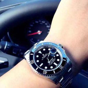 N厂劳力士V10黑水鬼复刻手表对比正品评测