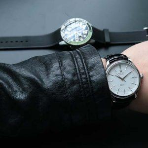 复刻手表图文测评: MKS厂劳力士切利尼M50509复刻表对比正品