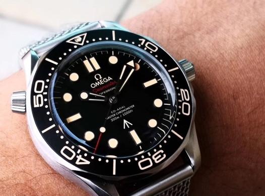 VS厂欧米茄海马007「钛金属」腕表细节品鉴