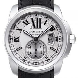 卡地亚W7100013-【精仿手表】高仿卡地亚Cartier Calibre卡历博系列男士机械腕表W7100013