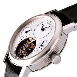 宝玑-宝玑Berguet Tourbillon顶级陀飞轮装置腕表 白色表盘