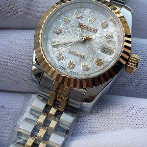 劳力士-【一比一精品】劳力士Rolex日志型系列女士腕表