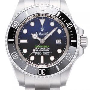 劳力士-【V7版】Rolex劳力士海使型系列116660-98210 蓝盘腕表 渐变蓝鬼王
