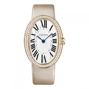 卡地亚-【一比一】Cartier卡地亚浴缸系列WB520005腕表玫瑰金镶钻石英女士表
