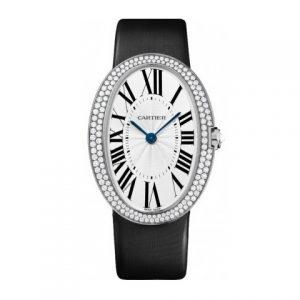 卡地亚-【一比一】Cartier卡地亚浴缸系列WB520009腕表精钢镶钻石英女士表