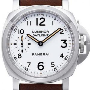 沛纳海-【NOOB厂终极版】沛纳海2014年款系列PAM00785精钢白色面腕表