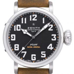 真力时03.2430.3000/21.C738-真力时Zenith飞行员系列自动机械腕表03.2430.3000/21.C738