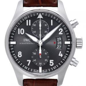 万国IW387802-【V6修正版】新品万国IWC 飞行员系列IW387802腕表