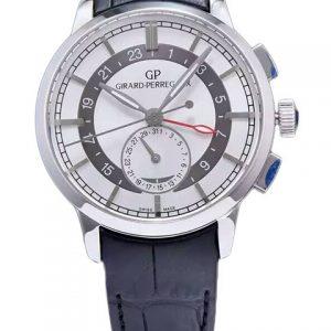芝柏49544-52-231-BB60-Girard-Perregaux芝柏男表系列49544-52-231-BB60双时区自动机械腕表