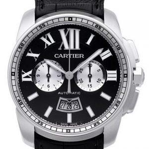卡地亚W7100060-高仿卡地亚CARTIER CALIBRE DE CARTIER 系列W7100060自动机械腕表