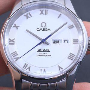 欧米茄-OMEGA欧米茄碟飞系列中文定制星期自动机械腕表