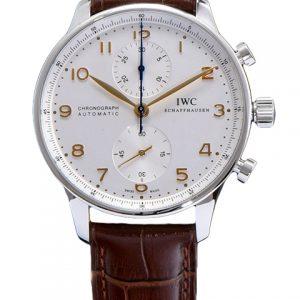 万国 IW371445-【ZF厂精品】万国IWC葡萄牙系列 IW371445航海家自动机械7750计时腕表