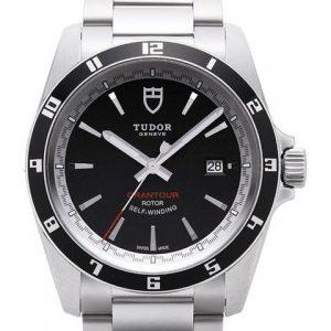 帝舵20500N-95730-帝舵GRANTOUR系列20500N-95730黑盘腕表