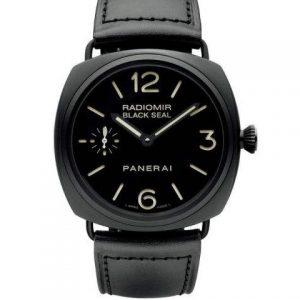 沛纳海-沛纳海Radiomir Black Seal手动上链机械男士腕表PAM00292J