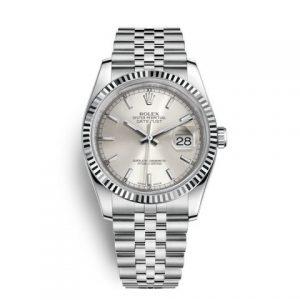 劳力士116234-劳力士Rolex日志型系列DateJust 116234-0080机械男表(银色面)