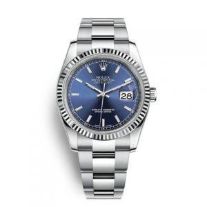 劳力士116234-劳力士Rolex日志型系列DateJust 116234-0128机械男表(蓝色面)